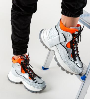 Pantofi Sport Karam Argintii 3