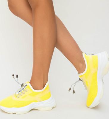 Pantofi Sport Kesde Galbeni