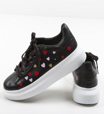 Pantofi Sport Loove Negri