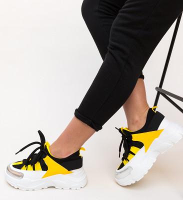 Pantofi Sport Paleto Galbeni