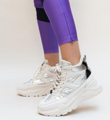 Pantofi Sport Sterha Argintii