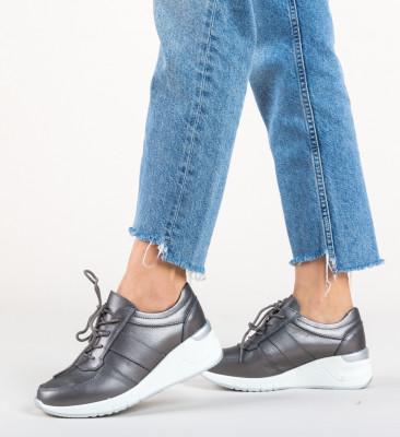 Pantofi Sport Yusha Gri