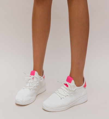 Pantofi Sport Zoha Albi