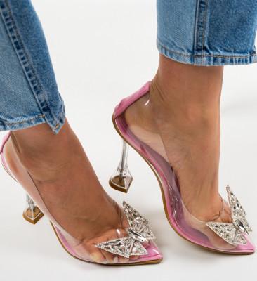Pantofi Steliz Roz