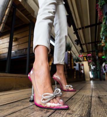 Pantofi Tacop Roz