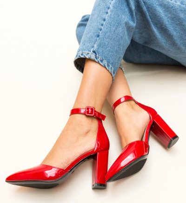 Pantofi Tillman Rosii