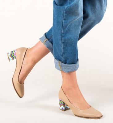 Pantofi Vardola Bej