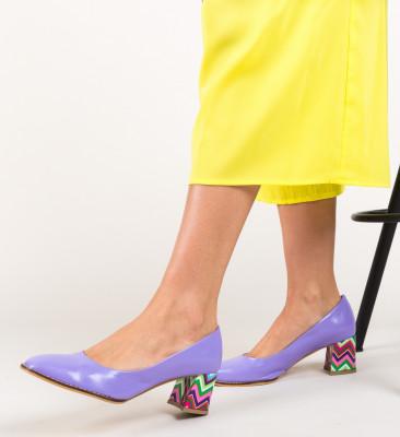 Pantofi Vardola Mov