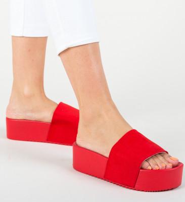 Papuci Escar Rosii