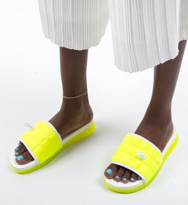 Papuci Harper Verzi Neon