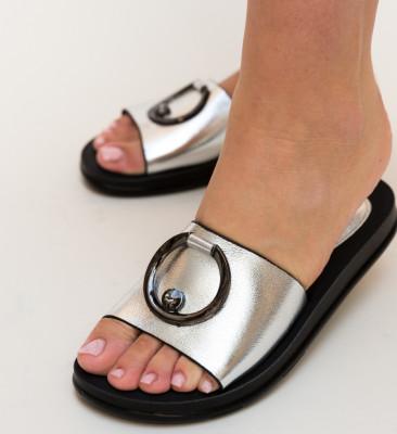 Papuci Havin Argintii