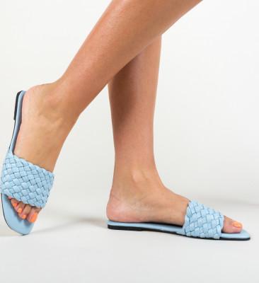 Papuci Peoria Albastri 2