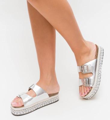 Papuci Roka Argintii