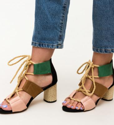Sandale Aras Negre
