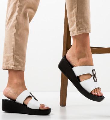 Sandale Benosy Albe