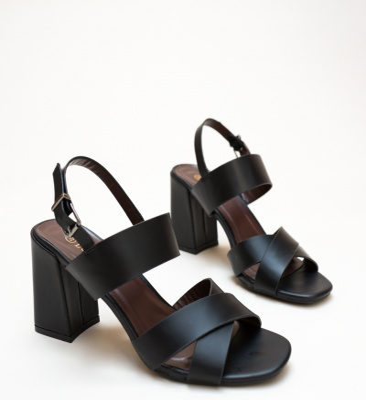 Sandale Berry Negre