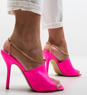 Sandale Cristodulo Roz Neon