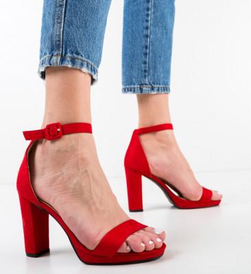 Sandale Deficie Rosii