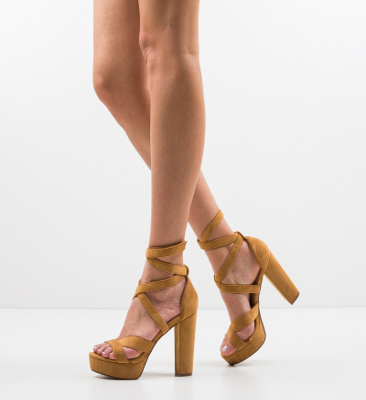 Sandale Fihe Camel