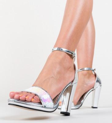 Sandale Klefec Argintii