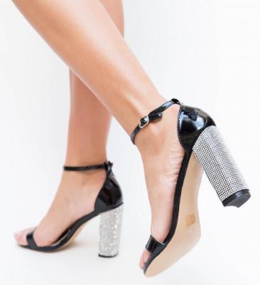 Sandale Lilas Negre