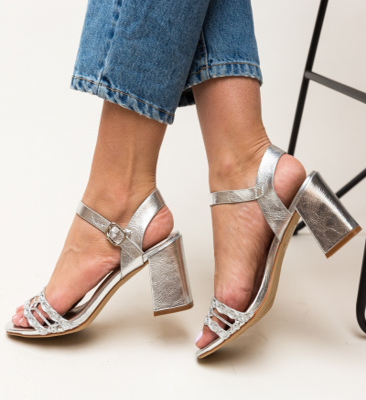 Sandale Lonar Argintii