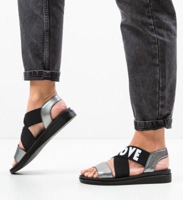Sandale Lovers Gri