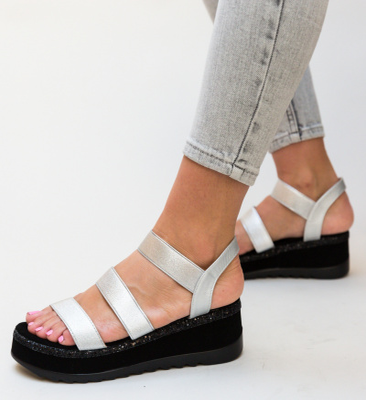 Sandale Mostin Argintii