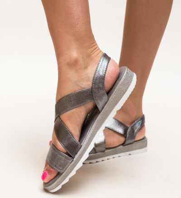 Sandale Narcis Gri