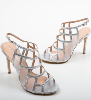 Sandale Nivelmo Argintii
