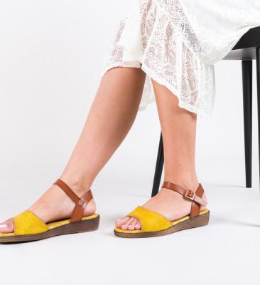 Sandale Sindo Galbene