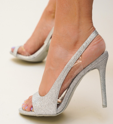 Sandale Snorlex Argintii