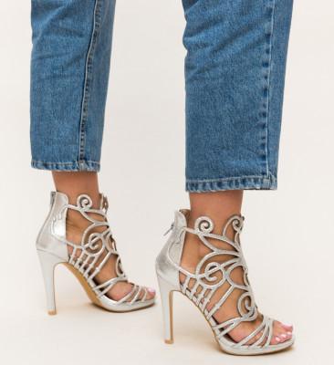 Sandale Tigres Argintii