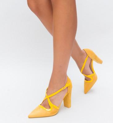 Pantofi Tiran Galbeni