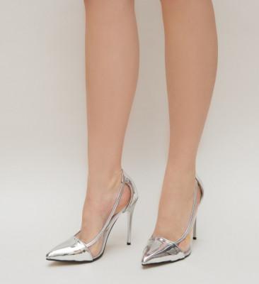 Pantofi Duck Argintii