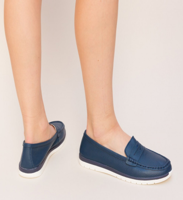 Pantofi Casual Marbela Bleumarin 2