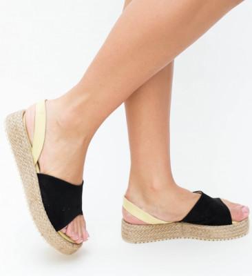 Sandale Vister Negre
