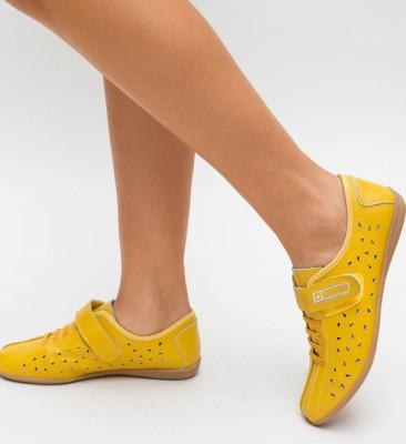 Pantofi Casual Vinio Galbeni