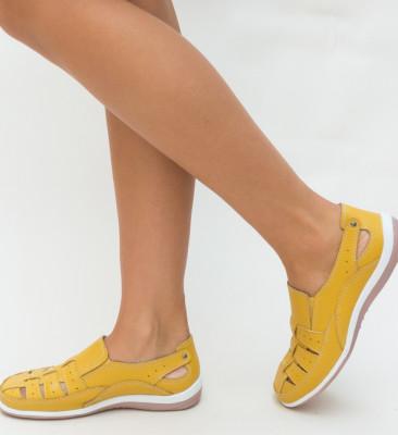 Pantofi Casual Romeo Galbeni