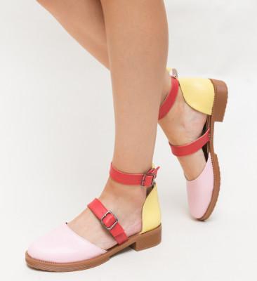 Pantofi Casual Mova Roz