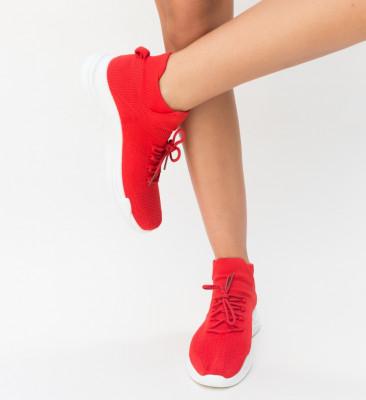 Pantofi Sport Bomni Rosii