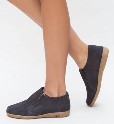 Pantofi Casual Barona Maro 2