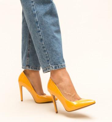 Pantofi Glen Galbeni