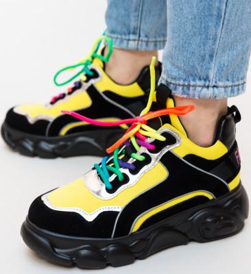Pantofi Sport Hermo Galbeni
