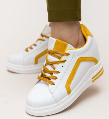 Pantofi Sport Hardy Galbeni