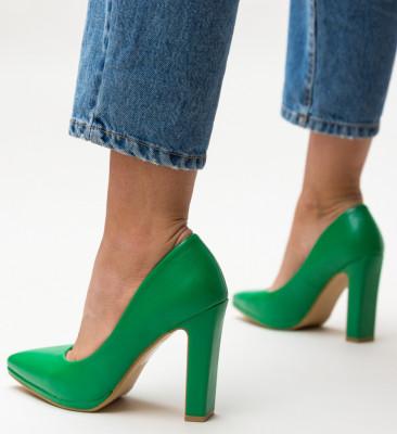 Pantofi Freddy Verzi