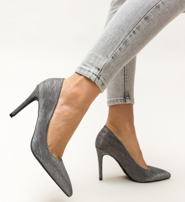 Pantofi Rotiform Gri