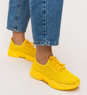 Pantofi Sport Devilon Galbeni