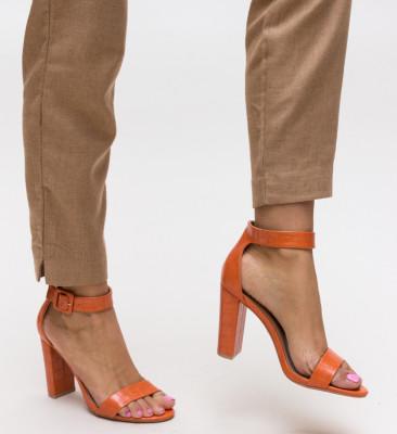 Sandale Rowan Portocalii