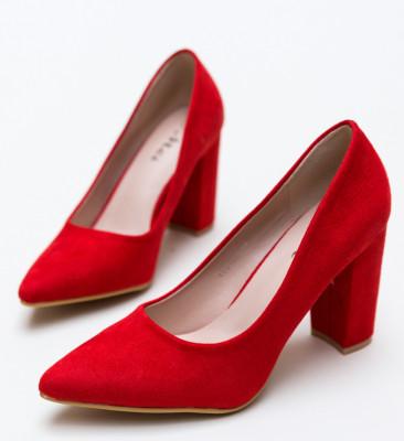Pantofi Tabita Rosii